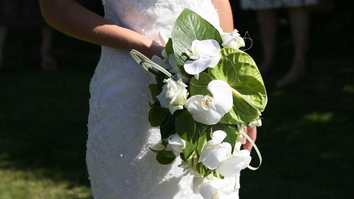 How To Be Your Own Florist on Your Wedding Day…. or Maybe Not